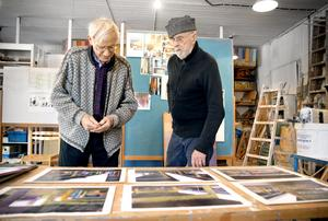 Fritz Fuchs och Sten Granlund vill sätta färg på bropelarna i Södra och Syd.