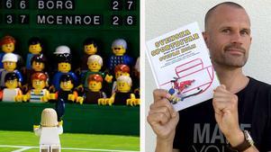Svenska sportbitar – byggt och berättat av Stefan Holm är hans fjärde bok och släpps i butik den 27 september. Foto: Pug Förlag