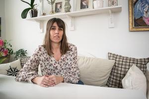 Marie Götesson är en av de Falubor som drabbats av inbrott under januari månad.