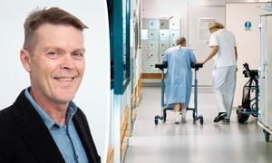 Kjell Holm, verksamhetschef på Stroke-Riksförbundet, skriver om de stora vinsterna i att satsa på strokevården. Bild: Stroke-förbundet / Claudio Bresciani/TT