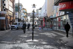I Sollefteå hoppas de att även handeln ska få ett uppsving medan JSM-tävlingarna på skidor pågår.