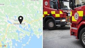 JUST NU: Larm om brinnande moped i Ö-vik