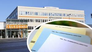 Populärt. Allra flest förtidsröstare har hittills röstat i Sjötelegrafens röstningslokal.