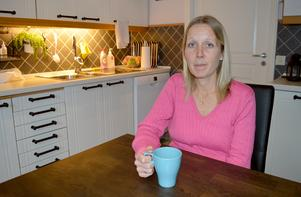 Sara Andersson berättar att dottern äter en hel del socker, men att hon även där är kräsen.