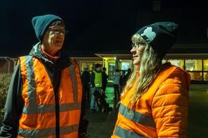 Marianne Nilsson har tidigare arbetat på Mobacka, Bodil Åslund Röst jobbar inom äldreomsorgen nu.
