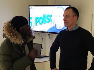 Fredrik har arbetat i Vivalla sedan 2010 även om han 2015 gick över till en annan roll som kommunpolis.