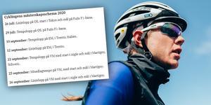 Mellan 26 juli och 26 september avgörs sju mästerskapslopp i cykling. Det är ännu inte klart hur många av dem Emilia Fahlin kommer att köra. Foto: Thomas Maheux