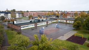 Socialdemokraterna vill att en ny Åkraskola ska byggas på samma plats som den står på i dag.