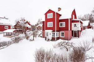 Denna åttarumsvilla i Nedre Norslund i Falun fick 6 075 klick på Hemnet under vecka 9, vilket gav en femteplats på Dalarnas egen Klicktoppen. Foto: Kristofer Skog/Husfoto