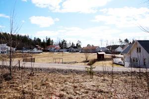 Utsikten från ett av hållen på Uddnäsvägen två där 22 stycken nya bostadsrätter ska byggas.