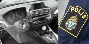 Flera inbrott under natten till torsdag i bilar av märket BMW och det som har stulits är framförallt rattar. Foto: Polisen
