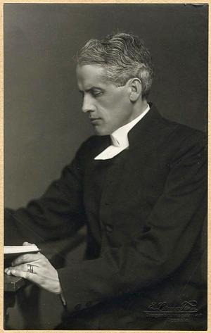 Einar Billing 1920. Foto: Finn Emil L:son
