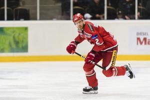 Tobias Ericsson är fortfarande Modos spelare, men kommer inte att spela med klubben. Bild: Jonas Forsberg/Bildbyrån