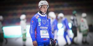 Simon Blomqvist, besviken efter tappet mot VSK.