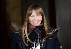 Författaren och journalisten Ann-Helén Laestadius. Foto: Henrik Montgomery / TT