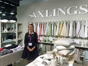 Anna Skoog från Axlings välkomnar hållbarhetstrenden.
