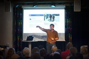 Under föreläsningen gick Jack Werner igenom flera uppmärksammade osanna historier som florerat på sociala medier.