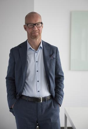 Johan Engström, vd på Fastighetsbyrån. Foto: Pressbild