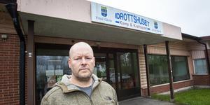 – Vi har varit här sedan 90-talet. Lokalen är perfekt för oss, säger Jan Drewes, kassör för BK Loke.