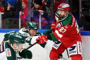 I fjol snittade Tomas Skogs 19 minuter per match. Denna säsong har han haft en marginaliserad roll. Foto: Daniel Eriksson/Bildbyrån.