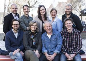 Här är gänget som svarade på frågor om nya OP.se och ltz.se:   Emil Danielsson, försäljningschef, Anders Trapp, digital redaktör Mittmedia, Sandra Högman, digital redaktör, Elin Lemnert, privatmarknadsansvarig, Simon Sjödin, webbredaktör, Olof Ekerlid, nyhetschef, Viktoria Winberg, chefredaktör LT, Hans Lindeberg, chefredaktör ÖP och Håkan Hamrin, affärsutvecklare.