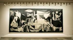 Originalet hänger på Reina de Sofia-museet i Madrid. Men en egen Guernica till vardagsrummet får du på allposters.com för en femhundring.