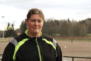 Sofia Olsson, stallchef i Storbyns ryttare.
