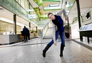 Sara Larsson Fryxell på Stadshuset i Södertälje 2012. Foto: Paola N Andersson