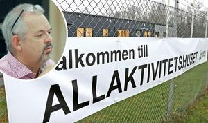 Tom Rymoen (M) anser inte att kommunen ska omförhandla hyreskontraktet med fastighetsägaren. Bild: Anders Almgren, Thomas Eriksson.
