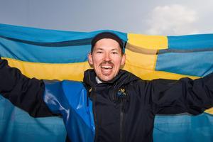 André Myhrer ordnade Sveriges nionde medalj i Pyeongchang. Bild: Joel Marklund/Bildbyrån.