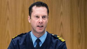 Max Åkervall, chef för lokalpolisområdet Södertälje.
