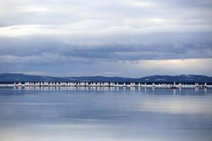 Dags för start på Orsasjön.