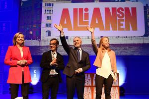 Kan Alliansen hålla ihop efter valet?Foto: Mikael Fritzon/TT