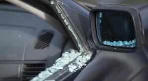 En rad bilar utsattes för inbrott under onsdagen och torsdagen. Foto: Fredrik Sandberg/TT