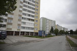 Höghuset vid Grågåsvägen 10, närmast, genomgår i år omfattande renovering och nästa år tänker Ludvikahem göra samma typ av jobb i grannhuset. Den sammanlagda beräknade kostnaden är närmare 30 miljoner.