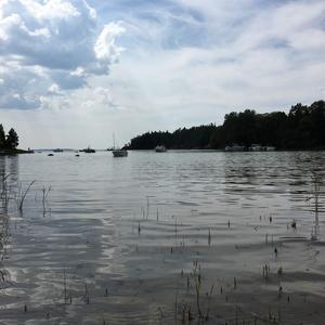 Vänneviken - paradis för båtfolk. Foto: Pernilla Nilsson