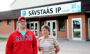 Sportchefen Fredrik Sjöholm och nya ordförande Nanette Andersson tror på ett gott samarbete.