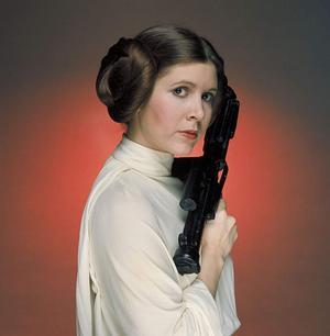 Prinsessan Leia (Carrie Fisher) är gudinnans arketyp i