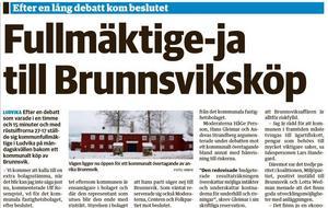 Nya Ludvika Tidning den 18 februari 2015.