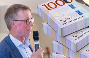 Göran Wigert varnade för att kommande år kommer bli svårare ekonomiskt  för Leksands kommun.