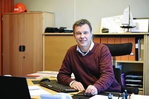 Lars Österlund, vd på Övikshem.