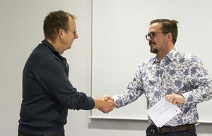 Lars och Lars. Westerman och Andersson, som är ordförande för kultur- och fritidsnämnden.