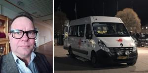 Håkan Jansson, skyddsombud vid Kollektivtrafikförvaltningen, beskriver beskedet om det stora miljonsvinnet som chockartat. Montagefoto: Privat och Eric Salomonsson.