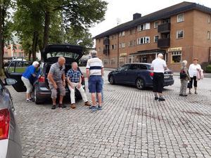 I Skara övernattade deltagarna under två nätter. Foto: Läsarbild