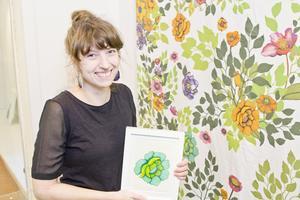 Linn Warne är en av de konstnärer med Västeråsanknytning som återvänd till staden för att ställa upp på Galleri Kaz. Foto: Daniel Guerra