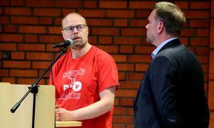 Örjan Olsson (V) är ett av namnen som står som avsändare på motionen om att HBTQ-certifiera alla skolor med personal.