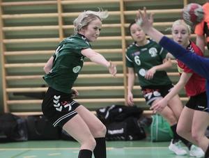 Maja Axell satte sju av målen och var den ledande stjärnan som visade vägen till den 19:e segern.