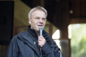 Upplands landshövding Göran Enander var värd för besöket.