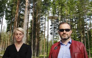 Kristin Åmansson och Rolf Johnny Dale är med i skolrådet på Älvstrandens förskola.