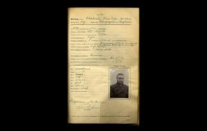 Dokumentation från Johan Filip Nordlunds fängelsevistelse.